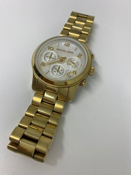 Relógio Michael Kors Dourado Mk-5305