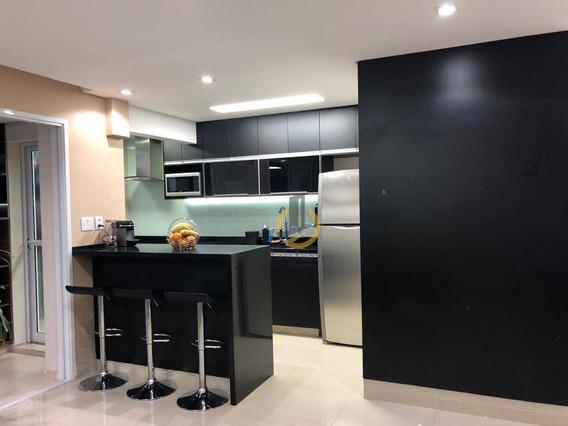 Apartamento Com 2 Dormitórios À Venda, 89 M² Por R$ 745.000,00 - Mooca - São Paulo/sp - Ap0966