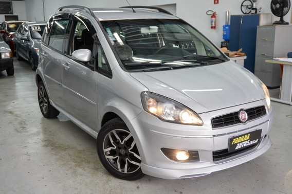 Fiat Idea Sporting 1.8 Manual 2011 Prata