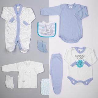 Ajuar Recien Nacido Body Gamise Ropa Bebe