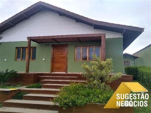 Casa Suntuosa E Aconchegante No Melhor Condomínio - 3644