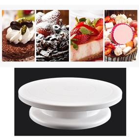 Torta Decorar Tocadiscos Cocción La Torta De Rotary Mesa Plá