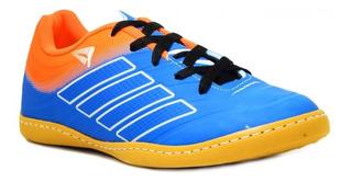 Tênis Winner Futsal Infantil 440 - Azul/laranja