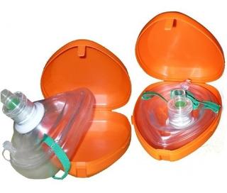 Mascara Mascarilla Para Rcp Reanimación Cardio Pulmonar Rcp