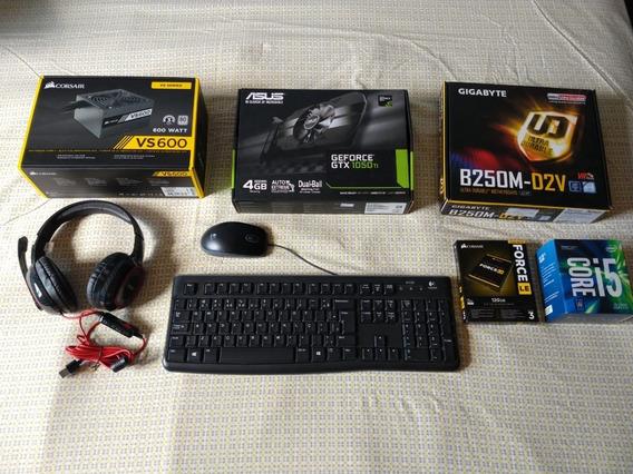 Pc Gamer I5 7400 Gtx 1050ti