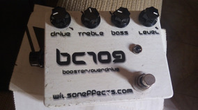 Pedal Wilson Effects Bc109 Booster E Overdrive Made In Usa