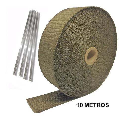 Manta Térmica Titanium Spa Fita P/ Escapamento 5 Metros