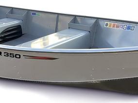 Levefort 350 - Bote De Aluminio + Motor Mercury