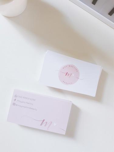 Cartão De Visita Personalizados - 1000un