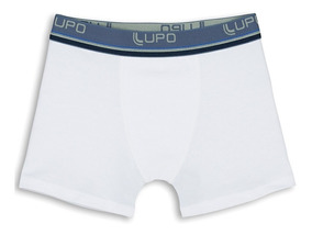 Kit 10 Cueca Lupo Infantil Box Boxer Original Cotton Algodão