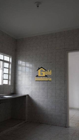Casa Com 1 Dormitório Para Alugar, 68 M² Por R$ 600/mês - Campos Elíseos - Ribeirão Preto/sp - Ca0581