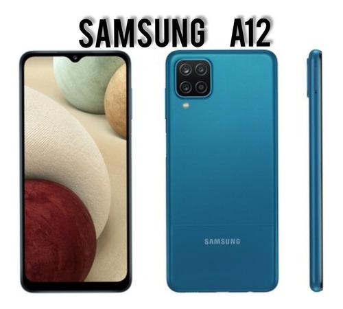Samsung Galaxy A12 64gb 4ram Lte Sellados Dual Sim