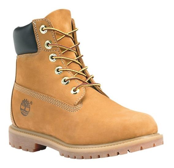 Bota Timberland Yellow Boot Nº37 Couro 100%