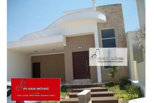 Casa Com 3 Dormitórios À Venda, 166 M² Por R$ 730.000,00 - Condomínio Villa Do Bosque - Sorocaba/sp - Ca0076