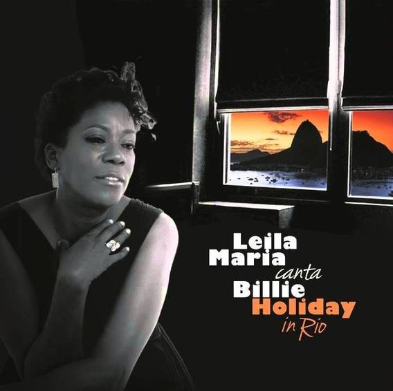 Leila Maria Canta Billie Holiday In Rio - Cd - Novo