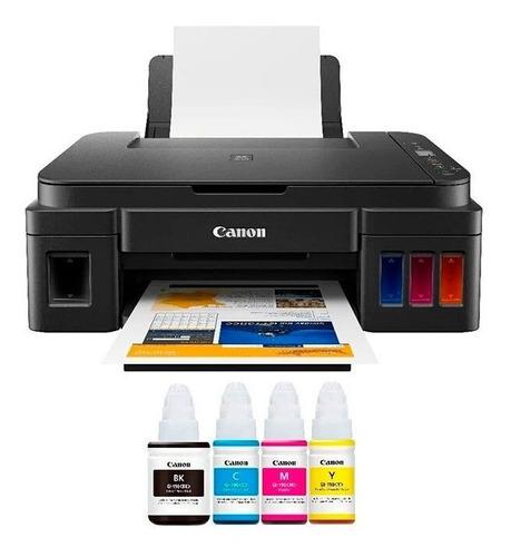 Impresora Canon G2110 Sistma Orginal Multifun 3años G +resma