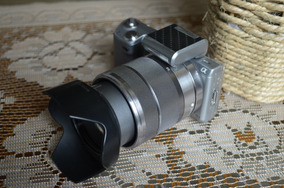 R$1299 Sony Alpha Nex-5n Com 2 Lentes Semi Nova