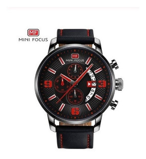Reloj Deportivo Hombre Marca Mini Focus 0025 Nnc Seik Caja
