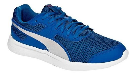 Tenis Puma Escaper Core Azul Rey Tallas De #26 A #29 Hombre