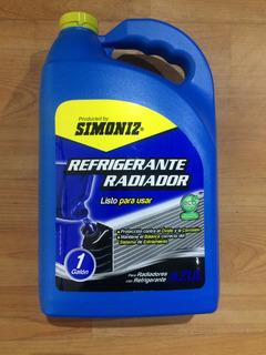 Refrigerante Para Radiador Simoniz Qualitor Azul Galon