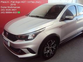 Fiat Argo Hgt 1.8 Flex (aut.) - 6 Marchas - Placa A - 2018