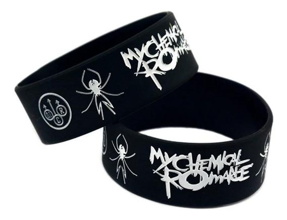 Pulsera My Chemical Romance Mcr Rock Musica 1 Pieza Silicon