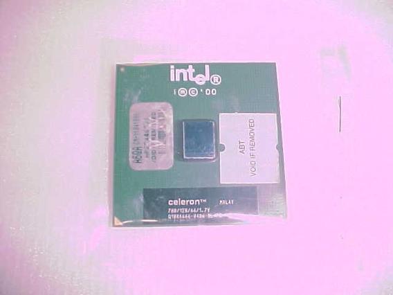Processador Intel Celeron/sl4p8/700/128/166/1.7v