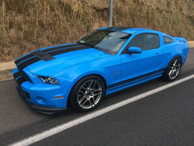 Ford Mustang 5.8l Shelby Gt500 20 Aniversario 2013 (nuevo)