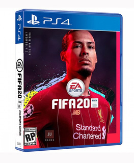 Fifa 20 Champions Edition Ps4 Español Latino + Póster