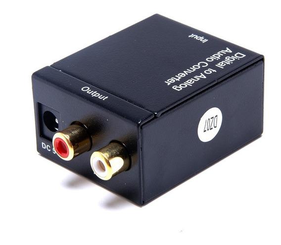 Conversor Óptico Digital Cabo Óptico Pronta Entrega