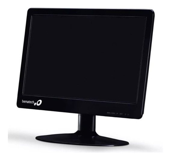 Monitor Bematech Led Widescreen 15.6 Para Pdv Automação