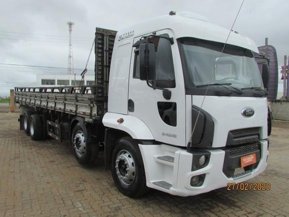 Ford Cargo 2428 8x2 Bitruck 4º Eixo Direcional - Carroceria