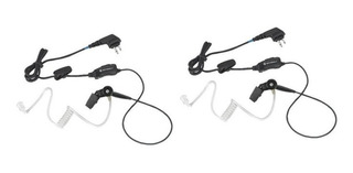 Auricular Vigilancia Un Cable Motorola Ep450 Dep450 2pza