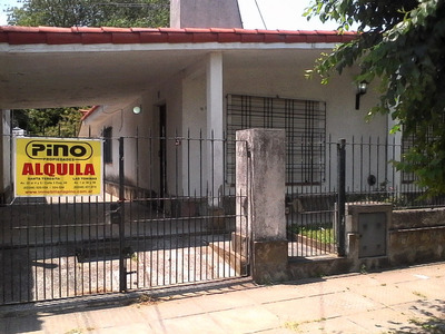 Santa Teresita.comoda Casa 3 Amb. Sola En Lote. Gas Natural!