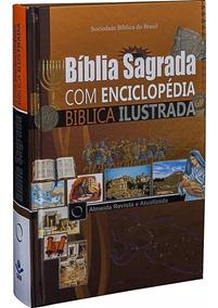 Bíblia Letra Grande Com Enciclopédia Ilustrada