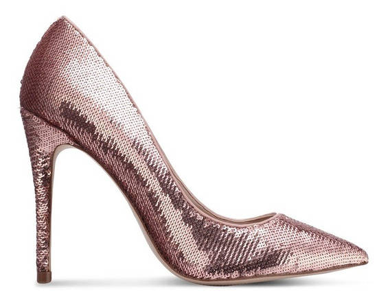 Zapatos Stillettos Aldo Stessy Lentejuelas