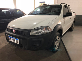 Fiat Strada 1.4 Working Dc 2016 3 Puertas Garatia 1 Año