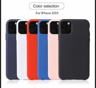Funda Silicona iPhone 11, 11 Pro Y 11 Pro Max