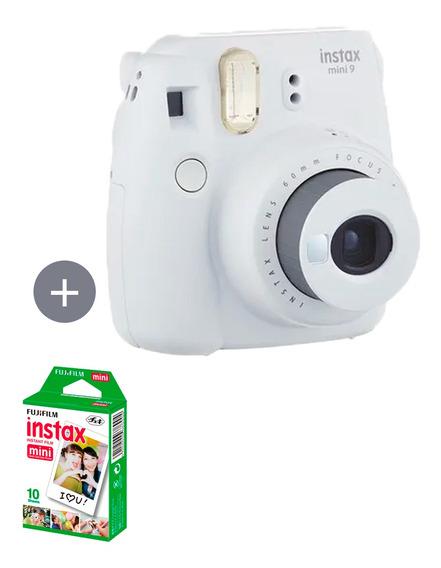 Câmera Instax Mini 9 Branco Gelo + 10 Fotos