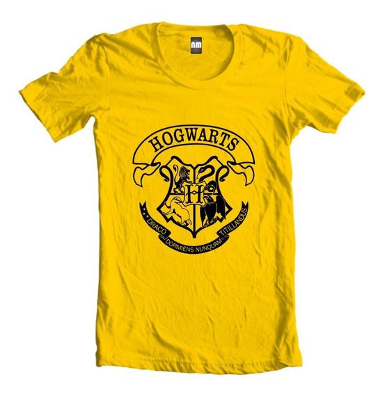 Camiseta Camisa Blusa Ou Baby Look Hogwarts Harry Potter