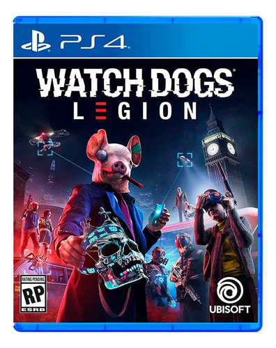 Watch Dogs Legion - Ps4 Fisico Nuevo Y Sellado