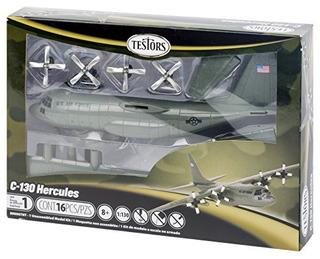 Avión De Juguete Testor Corp C-130 Hércules Escala 1: 130