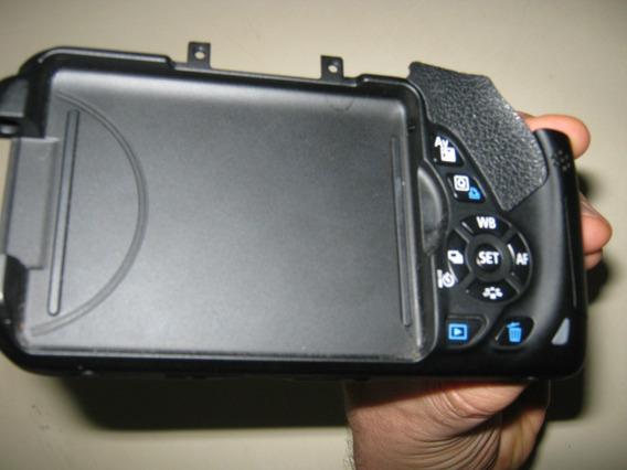 Tampa Traseira Parte Dos Botões Câmera Canon T4i Eos 650d