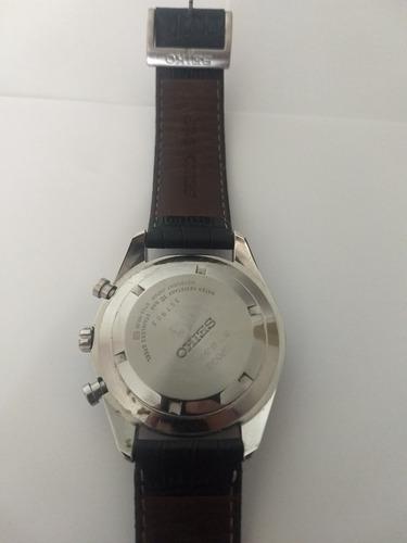 Relógio Seiko Masculino Cronógrafo 6t63aq/0