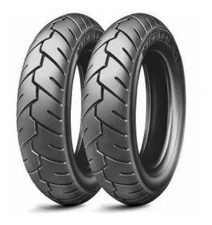 Par Pneu Suzuki Burgman 125 Michelin 3.50 - 10