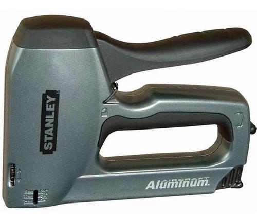 Imagen 1 de 4 de Engrampadora Clavadora Stanley Trabajo Pesado Tr250 Aluminio