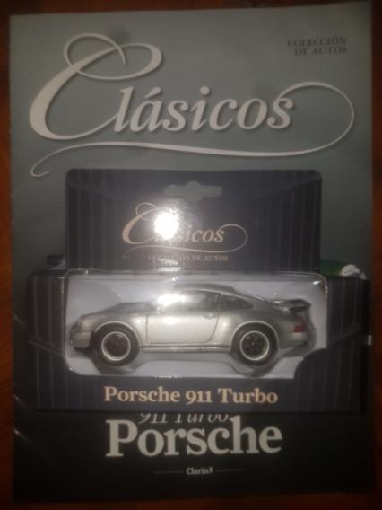 Porche 911 Turbo Colección Clásicos Clarín Con Fascículo.