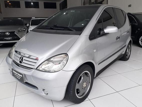 Mercedes-benz A 190 1.9 Elegance 8v Gasolina 4p Automático