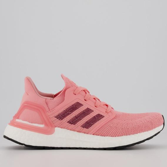 Tênis adidas Ultraboost 20 W Feminino Rosa