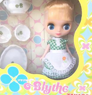 Petite Blythe Muñeca Kitchen Queen Takara Japón